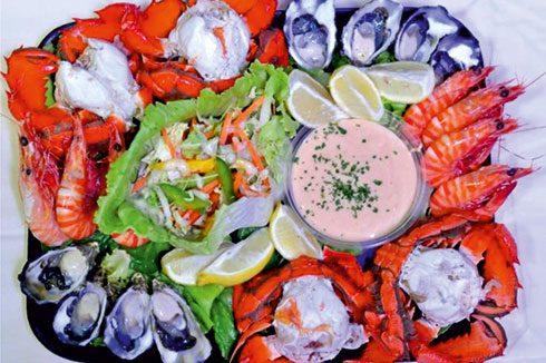 $55 Seafood Platter
