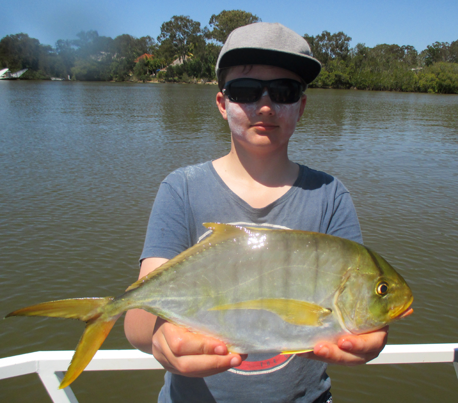 Aiden from Canberra landed a 50cm GT
