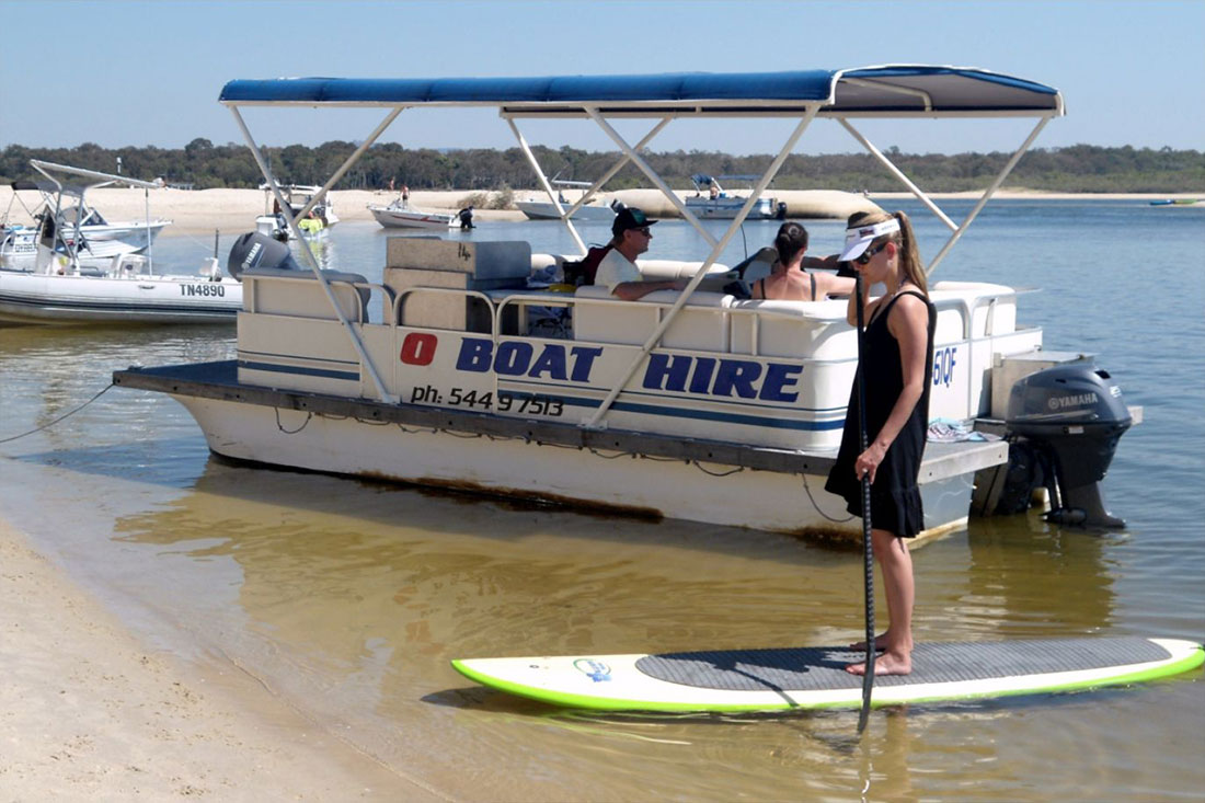 Boat and SUP hire
