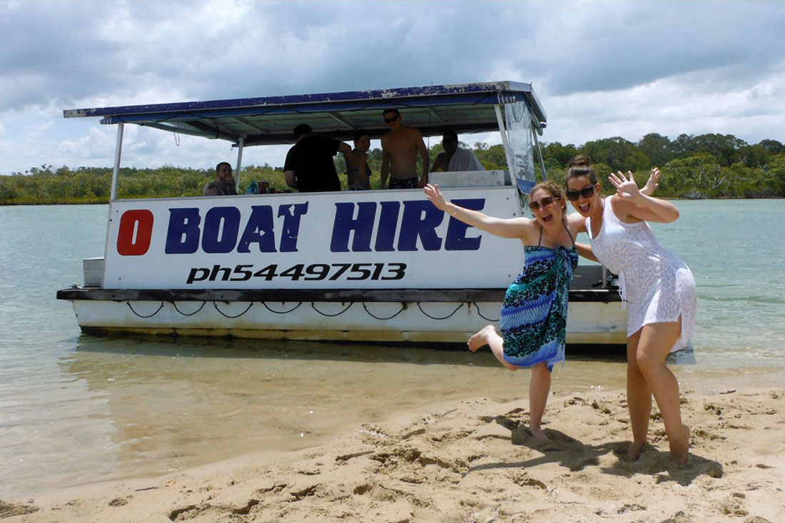 Noosa river boat hire